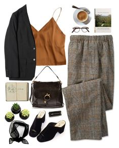 Untitled #2959 by wtf-towear on Polyvore featuring See by Chloé, Tory Burch, Cutler and Gross, WorkWear and 60secondstyle