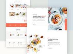 restaurant web ui design - Google Penelusuran Restaurant Web, Best Landing Pages, Web Ui Design, Graphic Design, Food Website, Wordpress Theme, Yummy Food, Delivery, Google
