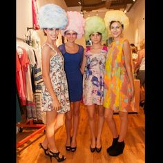 "Photo recieved from photographer Joseph Brewster from last months Nicole Kwon + Karen Walker event with D Magazine! @wallflowermgmt models with ""candy coated"" makeup by me, wearing their cotton candy headpieces made by @AGraves and myself. #makeupbylorann #makeupartistlife #makeupartist #makeupmob #modellife #models #CottonCandy #karenwalkereyewear #KarenWalker #nicolekwon #dallasnightlife #dallas #westvillage #fashion #colortrends @karen_walker #nicolekwon @chloe_ann09 @ndomhoff"