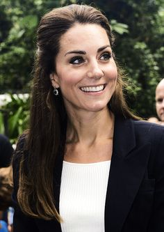 Duchess of Cambridge, visits the Eden Project in Cornwall on September 2, 2016 near St. Austell, England.