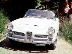 Alfa Romeo 2000 Spider (102) '1958–61