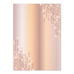 Pink And Gold Background, Gold Wallpaper Background, Sparkle Wallpaper, Rose Gold Wallpaper, Rose Gold Backgrounds, Glitter Wall Art, Sweet 16 Invitations, Rose Gold Glitter, Engagement Invitations
