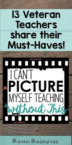 Each of the 13 veteran teachers share their Must Have book, Must Have classroom … Each of the 13 veteran teachers share their Must Have book, Must Have classroom supply, and Must Have resource. As a bonus, they each include… Continue Reading → Teacher Supplies, Teacher Tools, Teacher Hacks, Teacher Resources, Teacher Stuff, Classroom Supplies For Teachers, Resource Teacher, Real Teacher, New Teachers
