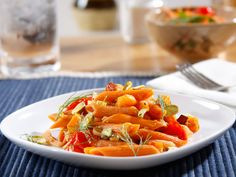 Recipe Barilla® Veggie Penne with Roasted Butternut Squash, Fennel, Grape Tomatoes and Toasted Pistachios - Barilla