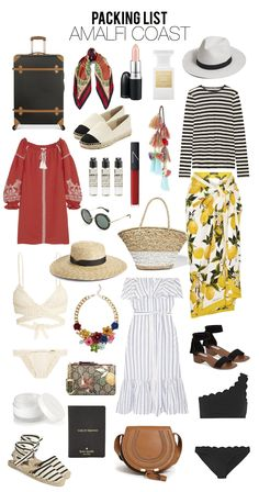 Travel packing outfits, travel capsule, travel wardrobe, italy outfits, e. Travel Packing Outfits, Packing Clothes, Travel Capsule, Travel Wardrobe, Capsule Wardrobe, Packing Tips, Beach Vacation Packing List, Weekend Packing, Summer Vacation Outfits
