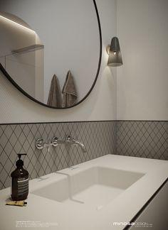 Minosa Design: Classic Modern Bathroom by Minosa