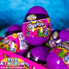 Shopkins Surprise Eggs Season 2 #Shopkins #ShopkinsSurpriseEggs