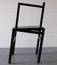 9,5° la chaise bancale par Rasmus B. Fex - Blog Esprit Design