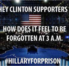 An oldie, but definitely a goodie! #HillaryForPrison