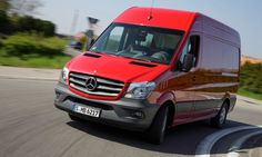 "Mercedes-Benz Sprinter Gets ""2013 Bakery Van of the Year"" Award"