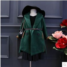 http://babyclothes.fashiongarments.biz/  2016 new autumn winter children's jacket woolen girls party coat dark green baby clothes for girl long american style costume, http://babyclothes.fashiongarments.biz/products/2016-new-autumn-winter-childrens-jacket-woolen-girls-party-coat-dark-green-baby-clothes-for-girl-long-american-style-costume/, ,  item name:2016 new autumn winter children's jacket woolen girls party coat dark green baby clothes for girl long american style costumenotice…