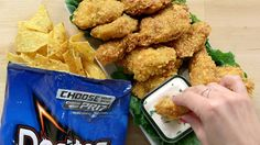 Yes You Can (and Should) Coat Chicken Tenders in Cool Ranch Doritos: Chicken tenders dipped in ranch dressing are already an anytime favorite.