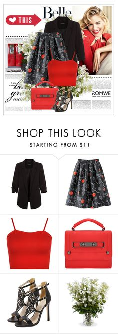 """ROMWE"" by clumsy-dreamer ❤ liked on Polyvore featuring WearAll and New Growth Designs"