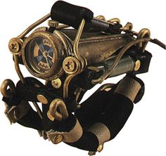 江戸時代風味のスチームパンク腕時計 1