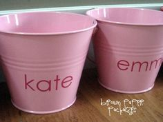 brown paper packages: {love buckets...a valentine countdown}