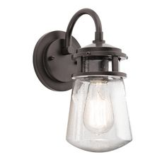 Kichler Lyndon 1 Light Outdoor Wall Lighting & Reviews | Wayfair
