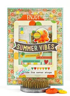 Ice cream and summer go hand-in-hand, making this 4 x 5.5 inch birthday card perfect for a summer ice cream party. #thecardkiosk