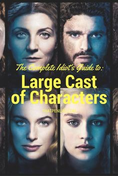Many authors struggle with a large cast of characters! How does one manage to well...manage so many different story lines? A large cast is an opportunity