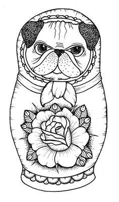 собака-матрёшка