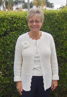 Soy Simple Sweater free crochet pattern