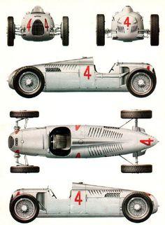 1935 Auto Union Type B