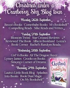 NEW REVIEW - Christmas Under a Cranberry Sky by Holly Martin - http://simonascornerofdreams.blogspot.ch/2016/09/christmas-under-cranberry-sky-by-holly.html MAGICAL #bookbloggers