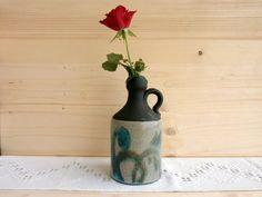 Vintage ceramic vase Scandinavian pottery jug от DelicateRetro