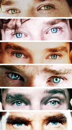 You know those eyes..... THEY'RE BENNEDICT CUMBERBATCH's EYES!!  . . .  I can't even... . . .  Major fangirling moment!!