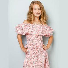 Imogen Primrose Dress For Girl