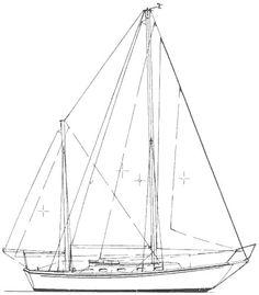 SEAWIND MK II KETCH (ALLIED)    Hull Type:Long KeelRig Type:Masthead Ketch LOA:31.58' / 9.63mLWL:25.50' / 7.77m Beam:10.42' / 3.18mListed SA:555 ft2 / 51.56 m2 Draft (max.)4.50' / 1.37mDraft (min.) Disp.14900 lbs./ 6759 kgs.Ballast:5400 lbs. / 2449 kgs. SA/Disp.:14.72Bal./Disp.:36.23%Disp./Len.:401.16 Designer:Thomas Gilmer Builder:Allied Boat Co. (USA) Construct.:FGBal. type:Lead First Built:1975Last Built:1982# Built:130