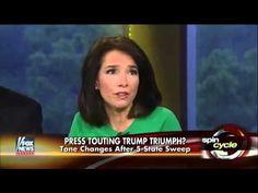 Press touting Trump # triumph#