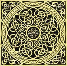 celtic knots - never ending lines with no limits. Celtic Knot Tattoo, Celtic Tattoos, Celtic Knots, Celtic Mandala, Celtic Art, Celtic Circle, Celtic Spiral, Celtic Patterns, Cross Stitch Patterns