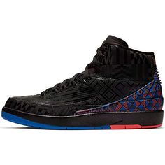 Nike Air Jordan 2 Retro BHM Mens Bq7618-007 Size 13 Black/Metallic Gold All Black Sneakers, Air Jordans, Jordan Retro, Metallic Gold, Nike Air, Stuff To Buy, Men, Shoes, Fashion
