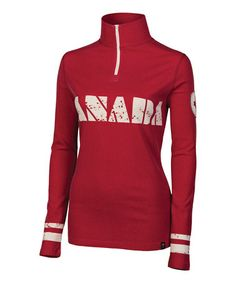 Take a look at this Red Canada Silk-Merino Blend Pullover - Women by Neve on #zulily today!