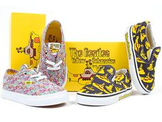 All You Need Is Love! Vans Debuts Beatles 'Yellow Submarine' Collection | People.com--THIS MUST HAPPEN.