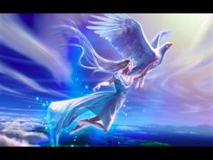 """Geleide SLAAPMEDITATIE """"Laat je liefdevol meevoeren door de engel van de nacht"""" - YouTube"""