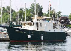 2001 Custom 46 Steel LRC Trawler Power Boat For Sale - www.yachtworld.com