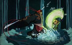 The Legend of Zelda: The Wind Waker, Toon Link and Ganondorf / - Wind Waker - by coreymill on deviantART