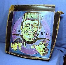 Vintage Frankenstein 1963 Hasbro Horror Target Universal Boxed Deluxe Large Size