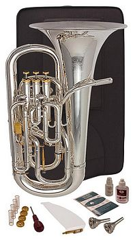 Silber Bb Euphonium Band & Orchester