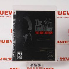 #Videojuego #THE GODFATHER THE DON´S EDITION para #PS3 E269575 de segunda mano | Tienda de Segunda Mano en Barcelona Re-Nuevo #segundamano