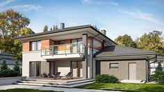 Kleo - zdjęcie 2 Construction, Home Fashion, House Plans, House Design, House Styles, Case, Home Decor, Collection, Modern