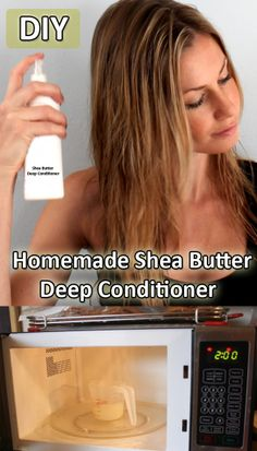DIY Homemade Shea Butter Deep Conditioner : #DIY #Homemade #HomemadeProducts #DIYProducts #DIYHomemade #doityourself #tutorial #stepbystep #howto #SheaButter #DeepConditioner #SheaButterDeepConditioner #DIYDeepConditioner  - > http://www.homeremedyshop.com/diy-homemade-shea-butter-deep-conditioner/