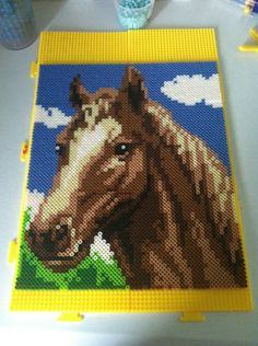 horse perler