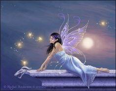 Twilight Shimmer Fairy Art Print van twosilverstars op Etsy