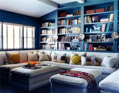 yes. Every house should have a room with a huge sofa for cuddling on, and a HUGE bookcase.