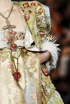 """Haute Couture should be fun, foolish and almost unwearable."" -Christian Lacroix"