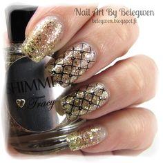 Nail Art by Belegwen: Shimmer Polish: Tracy