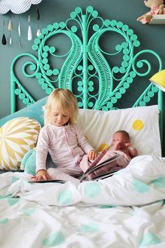 Little Louli Linen - styled by http://www.fourcheekymonkeys.com #kidsinterior #kids #kidsroom #interior