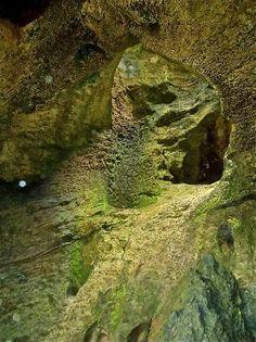 La Cueva del Indio: inside the cave, Arecibo, Puerto Rico